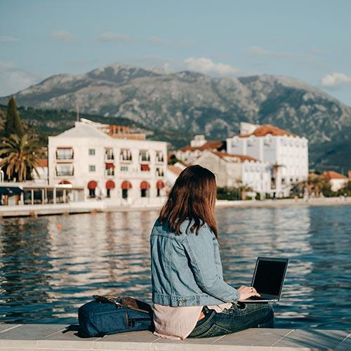 Estudia donde y cuando quieras.