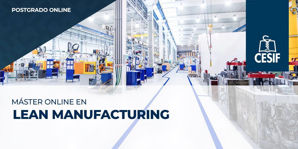 Master online Lean Manufacturing (mejora continua) CESIF