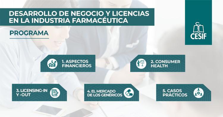 desarrollo de negocio y licencias en la industria farmacéutica CESIF
