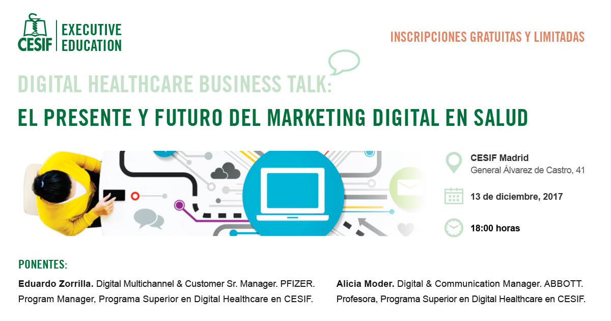 Digital Healthcare Business Talk: el presente y futuro del Marketing Digital en Salud